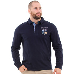 Vêtements Homme Polos manches longues Ruckfield Polo homme we are rugby Bleu