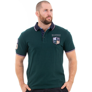 Vêtements Homme Polos manches courtes Ruckfield Polo vert foncé we are rugby Vert