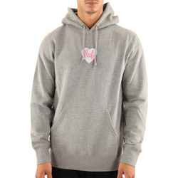 Vêtements Homme Sweats Huf Sweat ? capuche  Plastic Heart P/0 Hoodie Gris clair