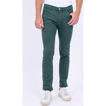 Vêtements Homme Pantalons 5 poches Ritchie Pantalon 5 poches VAAS Kaki
