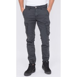 Vêtements Homme Pantalons cargo Ritchie Pantalon battle VAOUR Gris foncé