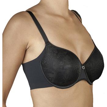 Sous-vêtements Femme Brassières Selene Soutien-gorge push-up à armatures Morella Noir