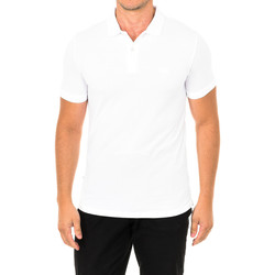 Vêtements Homme Polos manches courtes Superdry Polo à manches courtes Blanc
