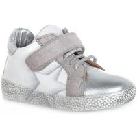 Chaussures Garçon Baskets basses Grunland BIANCO NOON Bianco