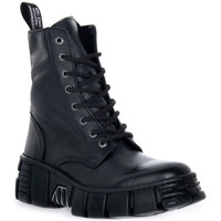 Chaussures Boots New Rock WALL ASA LUXOR NEGRO Nero