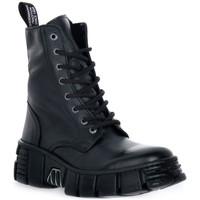 Chaussures Boots New Rock WALL ASA LUXOR NEGRO Nero