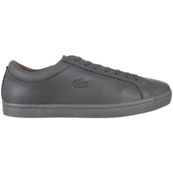 Chaussures Homme Baskets basses Lacoste Straightset 4 Srm Graphite