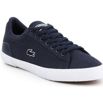 Chaussures Homme Baskets basses Lacoste Lerond Bleu marine
