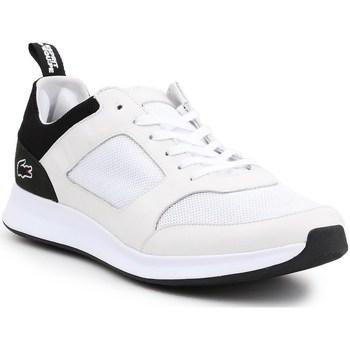 Chaussures Homme Baskets basses Lacoste Joggeur Blanc, Noir