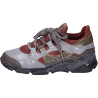 Chaussures Femme Baskets mode Moma Sneakers Cuir Gris