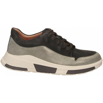 Chaussures Femme Baskets basses FitFlop FREYA SUEDE SNEAKERS grey