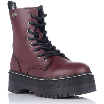 Chaussures Femme Boots Emmshu ABI Rouge