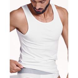 Vêtements Homme Débardeurs / T-shirts sans manche Lisca Débardeur Hercules  Men Blanc