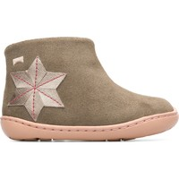 Chaussures Fille Bottines Camper Bottines cuir TWS vert