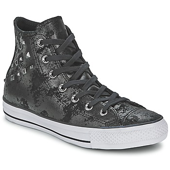 Chaussures Femme Baskets montantes Converse CHUCK TAYLOR ALL STAR HARDWARE Noir / Argent