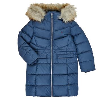 Vêtements Fille Doudounes Tommy Hilfiger KG0KG05397-C87-C Marine