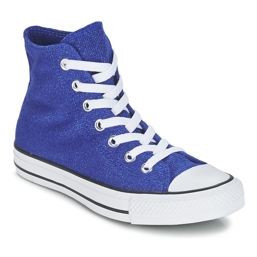 Chaussures Femme Baskets montantes Converse CHUCK TAYLOR ALL STAR KNIT Bleu roi