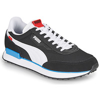 Chaussures Homme Baskets basses Puma FUTURE RIDER PLAY ON Noir / Blanc
