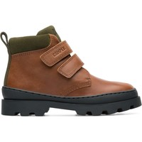Chaussures Garçon Boots Camper Bottines cuir BRUTUS marron