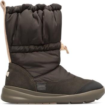Chaussures Fille Bottes de neige Camper Bottines ERGO gris