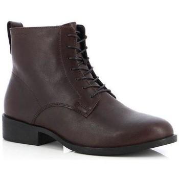 Chaussures Femme Bottines Vagabond Bottines Cary Espresso Marron