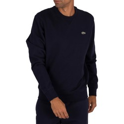 Vêtements Homme Sweats Lacoste Sweat à logo sport bleu
