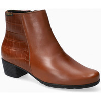 Chaussures Femme Bottines Mephisto Bottine ILSA marron Rouge