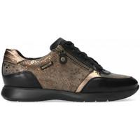 Chaussures Femme Baskets basses Mephisto Basket cuir MONIA Noir