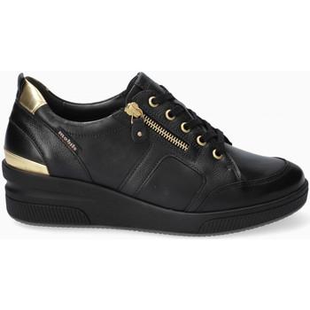 Chaussures Femme Baskets basses Mephisto Basket TRUDIE Blanc Noir