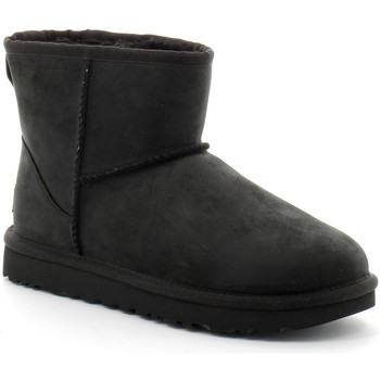 Chaussures Femme Boots UGG classic mini leather bottes Noir