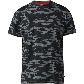 Vêtements Homme T-shirts manches courtes Duke  Gris