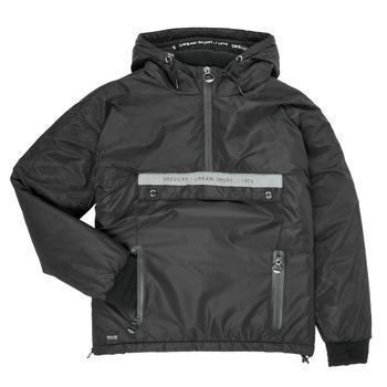 Vêtements Garçon Blousons Deeluxe  Noir