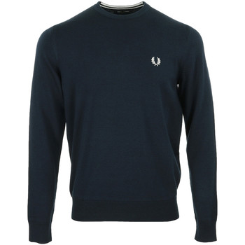Vêtements Homme Pulls Fred Perry Classic Crew Neck Jumper bleu