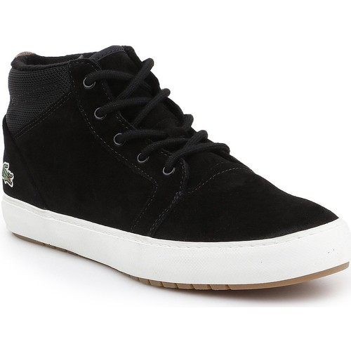 Chaussures Homme Baskets montantes Lacoste Ampthill Chukka 417 7-34CAW0065024 czarny