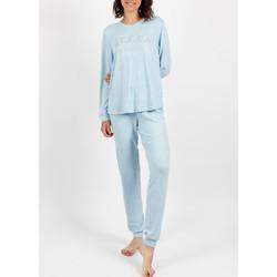 Vêtements Femme Pyjamas / Chemises de nuit Admas Tenue d'intérieur pyjama pantalon Sleep Bleu