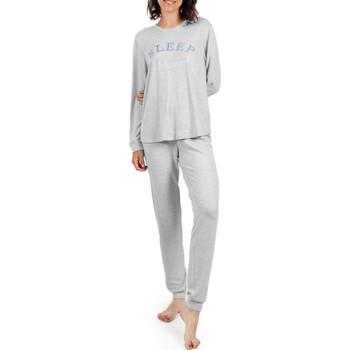 Vêtements Femme Pyjamas / Chemises de nuit Admas Tenue d'intérieur pyjama pantalon Sleep Gris