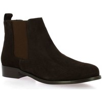 Chaussures Femme Boots Exit Boots cuir velours Marron