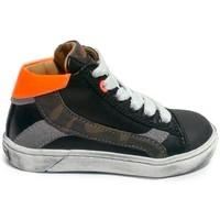 Chaussures Garçon Baskets montantes Stones and Bones 4368 ZORO Noir