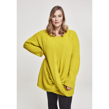Vêtements Femme Sweats Urban Classics Sweatshirt femme Urban Classic wrapped GT jaune moutarde