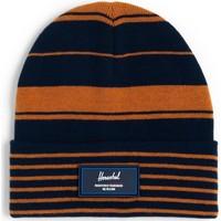 Accessoires textile Bonnets Herschel Elmer Rubber Peacoat/Pumpkin Spice Varsity Stripe