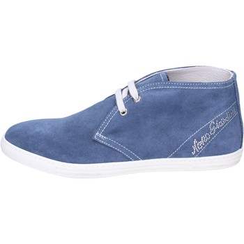 Chaussures Fille Bottines NeroGiardini BK487 Bleu