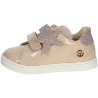Chaussures Fille Baskets basses Florens E7061 Poudre rose