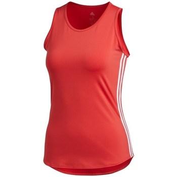 Vêtements Femme Débardeurs / T-shirts sans manche adidas Originals Wmns 3STRIPES Tank Top Rouge