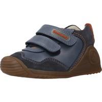 Chaussures Garçon Bottes Biomecanics 201121 Bleu