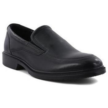 Chaussures Homme Mocassins Ecco MOCASSIN  - SANTIAGO NOIR DE LISBONNE Noir