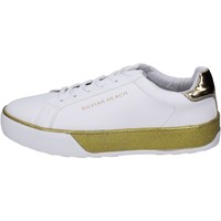Chaussures Fille Baskets mode Silvian Heach Sneakers Cuir synthétique Blanc