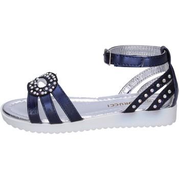 Chaussures Fille Sandales et Nu-pieds Fiorucci BK505 Bleu