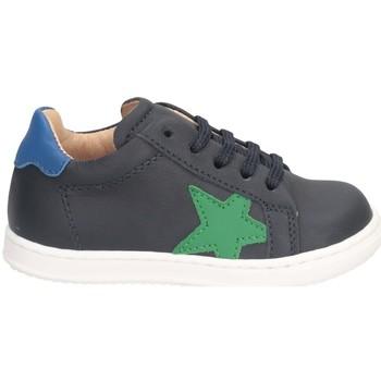 Chaussures Garçon Baskets basses Gioiecologiche 5118 BLEU VERT