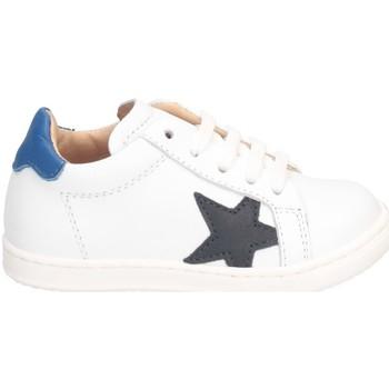 Chaussures Garçon Baskets basses Gioiecologiche 5118 BLANC BLEU