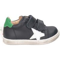 Chaussures Garçon Baskets basses Gioiecologiche 5119 BLEU BLANC